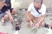 Digerebek Polisi Pengedar Narkoba Buang 37,52 Gram Sabu dalam Septic Tank