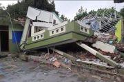 1 Sekolah Ambruk, 7 Rumah Rusak Akibat Pergerakan Tanah di Cibalong Tasikmalaya