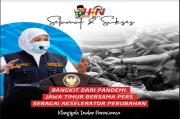 Peringatan HPN 2021, Gubernur Khofifah: Kuantitas dan Kualitas Produk Pers Harus Seimbang