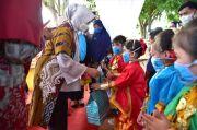 Lies F Nurdin Resmikan Taman Bermain dan Olahraga Makkatang Dg Sibali Takalar
