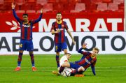 Dihajar Sevilla 0-2, De Jong Optimis Barcelona Masih Bisa ke Final