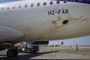 Houthi Serang Bandara Arab Saudi, Pesawat Penumpang Kena Tembakan