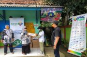 MNC Peduli Serahkan Bantuan dan Penyuluhan Gizi Posyandu di Wates Jaya Sukabumi