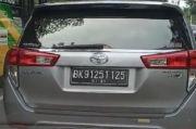 Heboh! Pelat Mobil Berupa Angka BK 91251 125 di Jalanan Kota Medan, Ini Penjelasannya