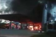 Mobil Terbakar di SPBU Gemparkan Musi Banyuasin, Polisi Temukan Korek Gas