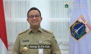 Anies Posting Video Selamat Tahun Baru Imlek, Netizen: Adem Kayak Masuk Kulkas