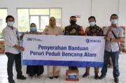 Peruri Salurkan Bantuan untuk Korban Banjir di Kabupaten Karawang