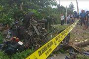 Mobil Keluarga Mendadak Mati Mesin saat KA Dhoho Lewat, 1 Penumpang Tewas