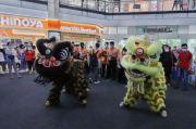 Semarak Tahun Baru Imlek, Mal Ratu Indah Gelar Parade Barongsai