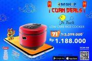 Masak Sehat, eMShop Tawarkan Produk Rice Cooker dengan Fitur Low Carbo