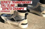 Intip Aksi Dokter Tirta Review Sepatu Kekinian Buatan Lokal