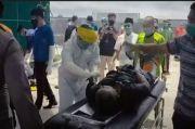 Pasien COVID-19 yang Sedang Isolasi Kabur ke Gorong-gorong, Petugas Berjibaku Mengevakuasi