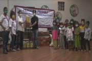 Banjir Terjang Semarang, Partai Perindo Berikan Bantuan ke Panti Asuhan