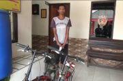 Istri Ingin Punya Sepeda, Suami Nekat Curi di Rumah Polisi