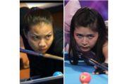 Turnamen Biliar Hot Nine: Echa Sudarto dari Banten Menghadapi Fanny Lestari dari DKI Jakarta Minggu Malam
