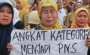 Putus Kontrak, Guru Honorer Minta Pemerintah Tak Diskriminatif