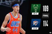 Hasil Pertandingan NBA, Senin (15/2/2021): Bucks Telan 3 Kekalahan Beruntun, Suns Belum Tersentuh