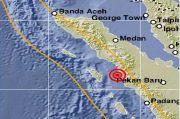 Gempa M 5,1 Guncang Padangsidimpuan Sumut