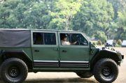 Maung Mobil Taktis yang Dilengkapi Konsol SS2-V4 dan Perangkat GPS
