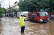 Hujan Deras, Beberapa Wilayah di Jakarta Utara Tergenang