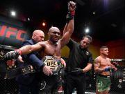 Menang 13 Beruntun, Petarung MMA Muslim Kamaru Usman Rusak Rekor GSP