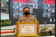 Pelayanan Prima, Polrestabes Bandung Sabet Penghargaan dari Menpan RB