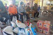 Sekda Luwu Salurkan Bantuan untuk Korban Angin Puting Beliung
