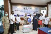 Bantu Perangi Covid-19, GPAN Berikan Ribuan Masker untuk Masyarakat Jakut