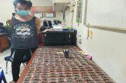 Ratusan Paket Ganja Siap Edar Diamankan Polisi di Rumah Oknum Perangkat Desa