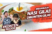 Alumni MasterChef Indonesia Bikin Nasi Gila Pinggir Jalan, Gimana Caranya?