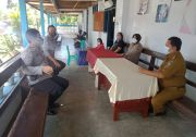 Dukung PPKM Mikro, Polres Bitung Pantau Pembentukan Kelurahan Tangguh COVID-19