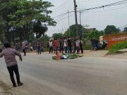 Sok Jago saat Hadang Truk Tronton, Remaja di Bogor Tewas Terlindas