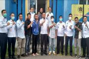 Sinergi saat Pandemi, Kalapas Kayuagung Kunjungi PWI OKI