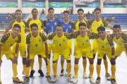 Jaga Kekompakan, Tim Futsal Maluku Utara Gelar Game Ringan
