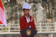 Resmikan Bendungan Tapin, Jokowi: Ini Mampu Kurangi Banjir Secara Drastis