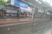 Banjir Parah yang Rendam Stasiun Tebet Surut, KRL Sudah Bisa Melintas