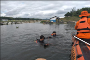 Pencarian Anak Tenggelam di Saguling, Tim SAR Lakukan Penyelaman di Lokasi Waduk