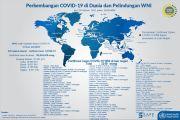 Kemlu: 3.249 WNI Positif Covid-19 di Luar Negeri