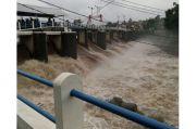 Puncak Bogor Diguyur Hujan, Tinggi Muka Air Bendungan Katulampa Capai 100 Cm