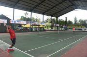 Sengit, 14 Tim Tenis Sultra Perebutkan Piala Pangdam XIV/Hsn dan Hadiah Rp39 Juta