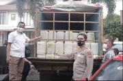 Polda Sulut Gagalkan Penyelundupan Ribuan Liter Cap Tikus ke Papua Barat