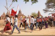 Demonstran Myanmar Meninggal setelah 10 Hari Terluka Parah