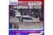 Waspada, Banjir Kepung Ibu Kota! Simak iNews Siang Sabtu Pukul 11.00 Ini