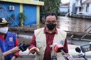 Anies Sebut Aliran Sungai Krukut Penyebab Genangan di Kemang Hingga Sudirman