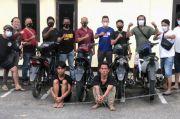 Spesialis Curanmor di Tebo Ditangkap saat Transaksi, 7 Motor Curian Diamankan