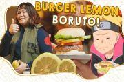 Cara Bikin Super Sour Lemon Burger, Makanan yang Ada di Film Anime