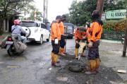 Curah Hujan Tinggi, 34 Titik Jalan di Kota Bogor Rusak