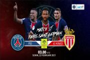 Live Streaming RCTI Plus: PSG vs AS Monaco