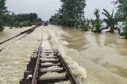 Rel Diterjang Banjir di Cikarang, Perjalanan KA Bandung-Jakarta Dibatalkan