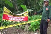 Alat Deteksi Rusak! Bukit di Lereng Wilis Nganjuk Retak, Ratusan Warga Tiap Malam Mengungsi